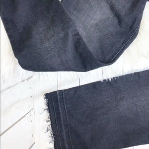 """Current/Elliott Jeans - New Current Elliot """"The Cropped Straight"""" Jeans"""